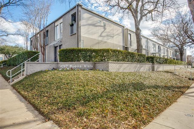 4242 Buena Vista Street #23, Dallas, TX 75205 - #: 14497764