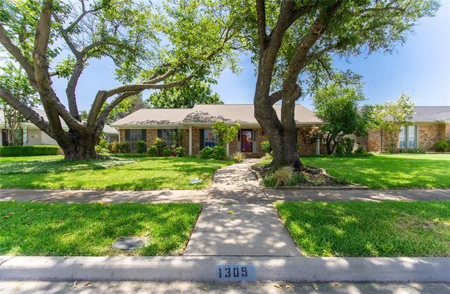 1309 Melrose Drive, Richardson, TX 75080 - #: 14616788