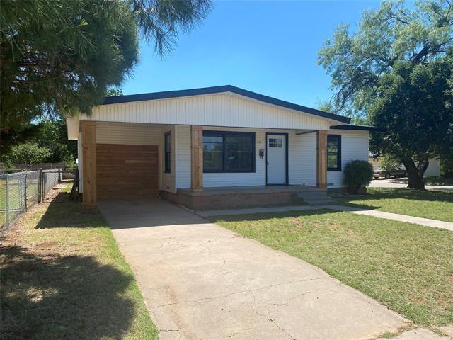 741 S Bowie Drive, Abilene, TX 79605 - #: 14350790