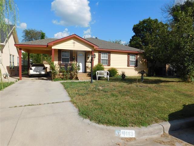 4113 Fry Street, Fort Worth, TX 76115 - #: 14673829