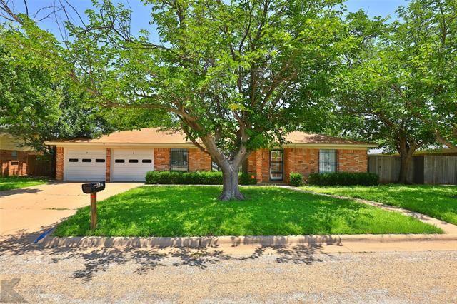 4417 Flintrock Drive, Abilene, TX 79606 - MLS#: 14601859
