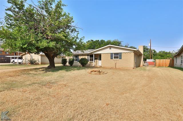 2502 Glenwood Drive, Abilene, TX 79605 - MLS#: 14666900