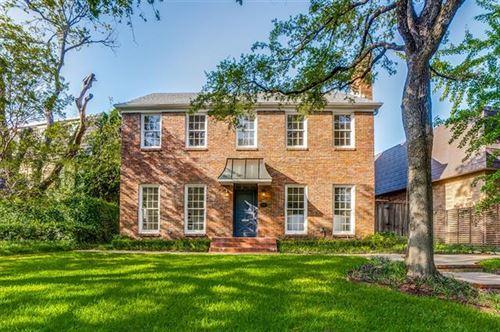 Photo of 3502 Gillon Avenue, Highland Park, TX 75205 (MLS # 14390965)