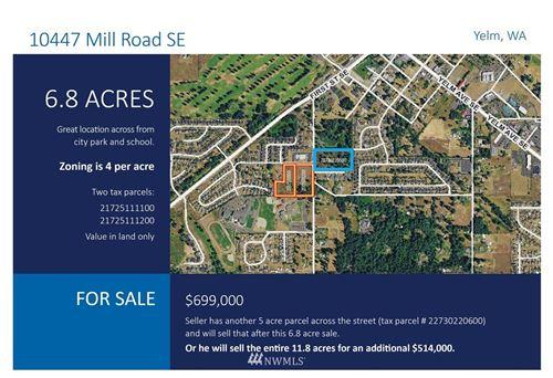 Photo of 10447 Mill Road SE, Yelm, WA 98597 (MLS # 1643062)