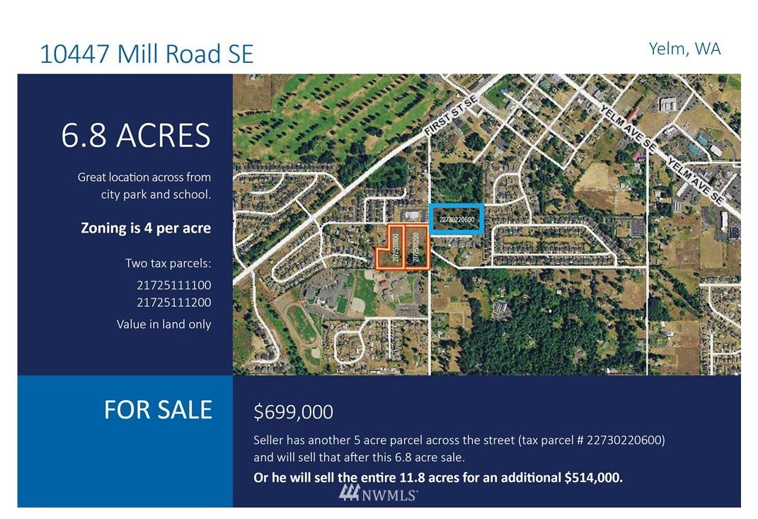 10447 Mill Road SE, Yelm, WA 98597 - MLS#: 1643062