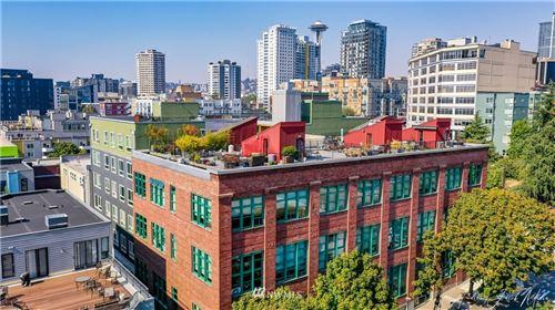 Photo of 66 Bell Street #102, Seattle, WA 98121 (MLS # 1660230)