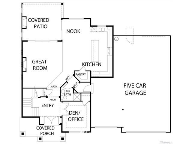 Photo of 13219 SE 264th Place #1, Kent, WA 98042 (MLS # 1752308)