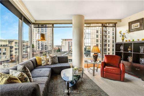 Photo of 10610 NE 9th Place #807, Bellevue, WA 98004 (MLS # 1718319)