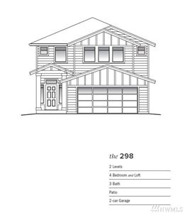 Photo of 9129 S 200th (Lot 41) Place, Kent, WA 98031 (MLS # 1445469)