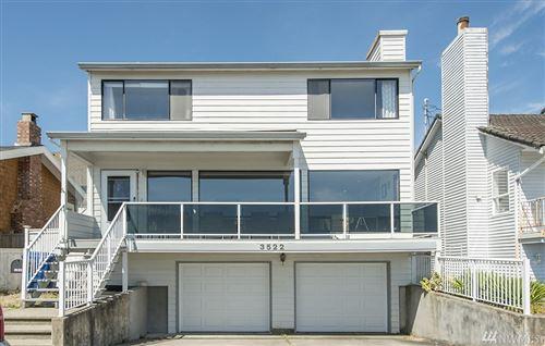 Photo of 3522 Beach Dr SW, Seattle, WA 98116 (MLS # 1621486)