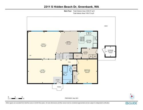 Tiny photo for 2331 Hidden Beach Drive, Greenbank, WA 98253 (MLS # 1757507)