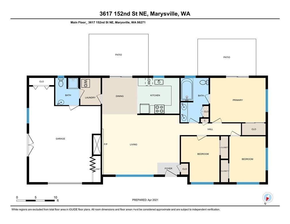 Photo of 3617 152nd Street NE, Marysville, WA 98271 (MLS # 1763690)