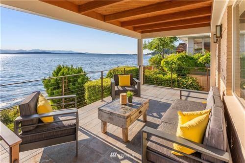 Photo of 5933 Beach Drive SW, Seattle, WA 98136 (MLS # 1810765)