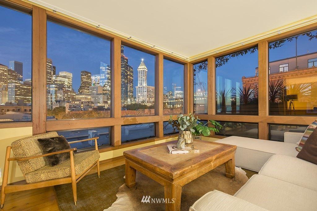 Photo of 80 S Jackson #406, Seattle, WA 98104 (MLS # 1679783)