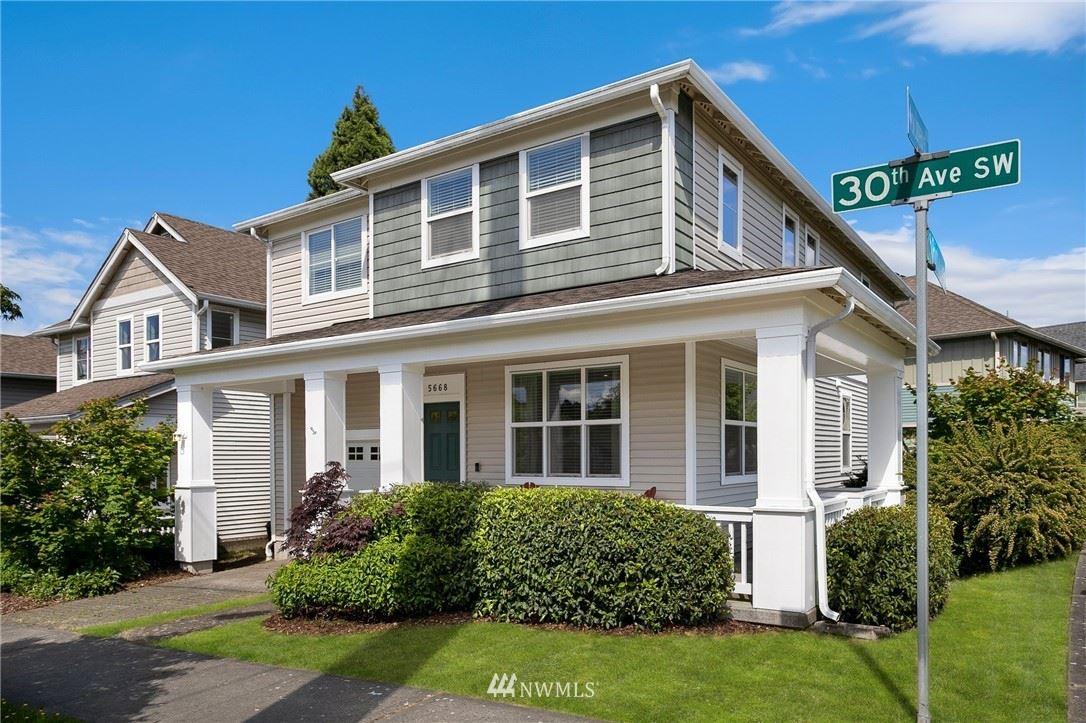 Photo of 5668 30th Avenue SW, Seattle, WA 98126 (MLS # 1787848)