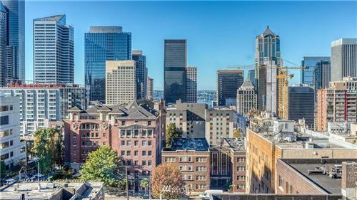 Photo of 1105 Spring Street #1010, Seattle, WA 98104 (MLS # 1682943)