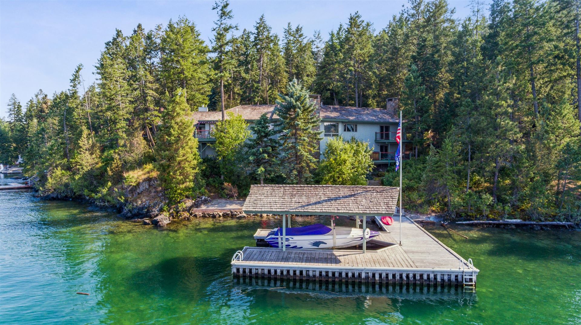 Photo for 661 & 655 Angel Point Road, Lakeside, MT 59922 (MLS # 22111335)