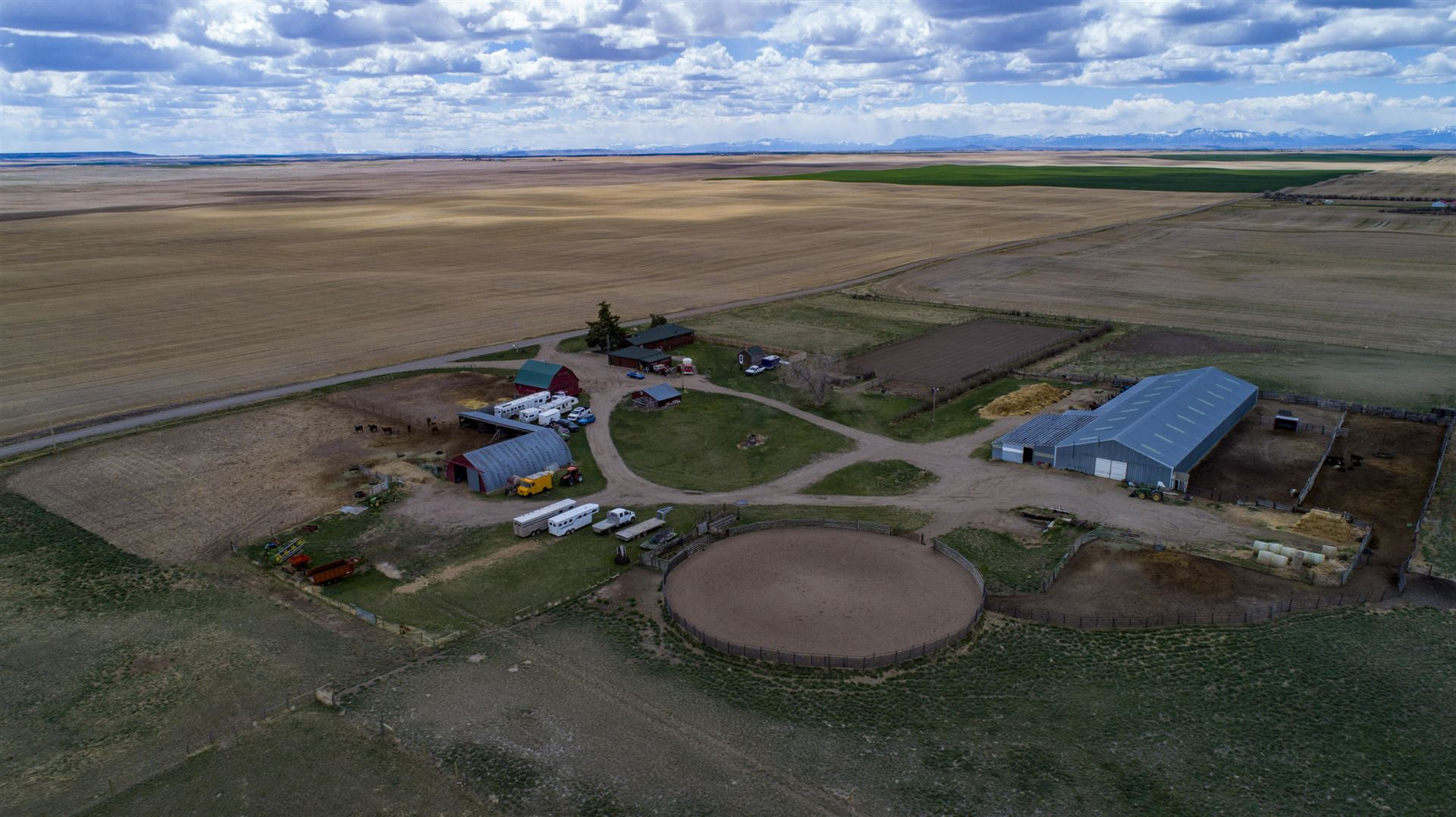 Photo of 481 24th Road North East, Dutton, MT 59433 (MLS # 22106773)