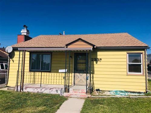 Photo of 2335 Princeton Street, Butte, MT 59701 (MLS # 22014799)