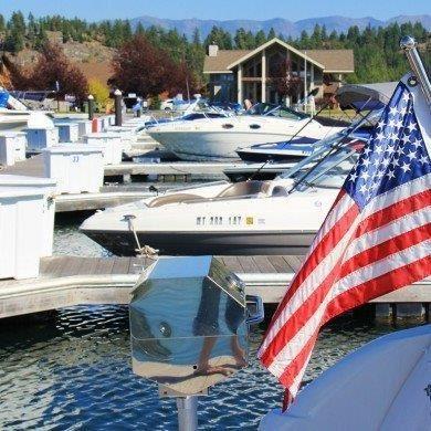 Photo of D-23 Eagle Bend Yacht Harbor, Bigfork, MT 59911 (MLS # 22105949)