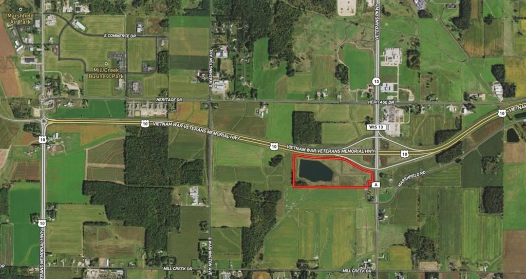 Photo of 10345 County Road A, Marshfield, WI 54449 (MLS # 1554068)