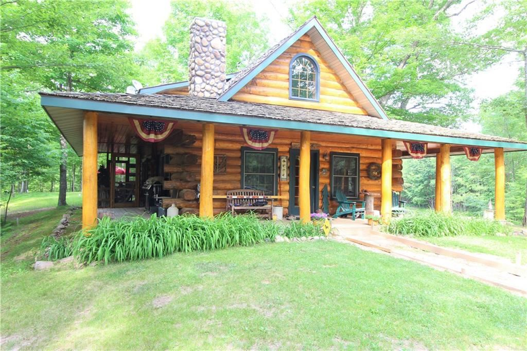 Photo of 3183 N Starkey Lake Road, Shell Lake, WI 54871 (MLS # 1543741)