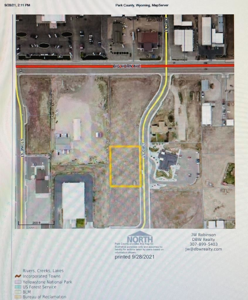 Photo of Lot 6 33rd St, Cody, WY 82414 (MLS # 10017394)