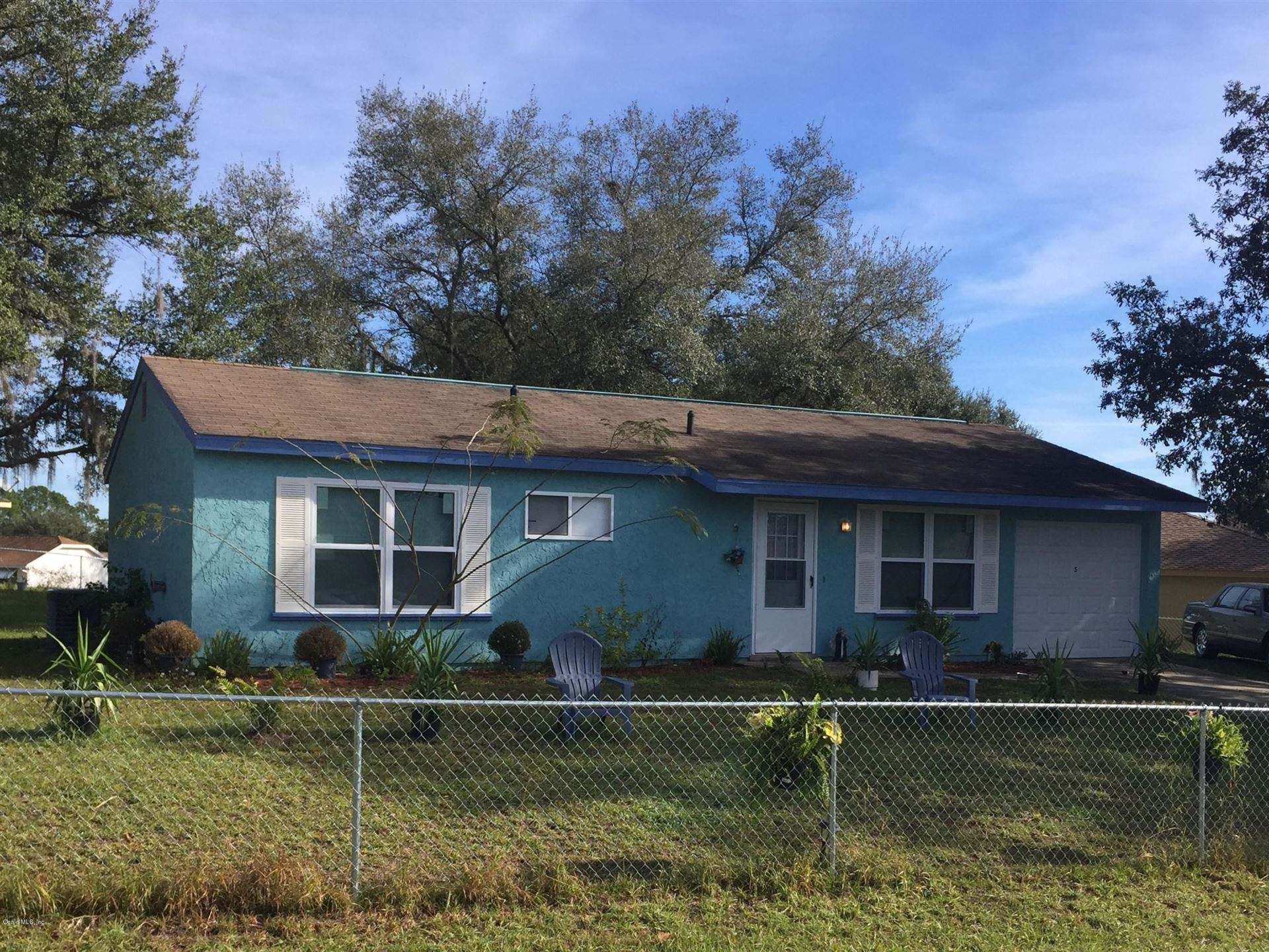 5 Oak Court, Ocala, FL 34472 - MLS#: 547642
