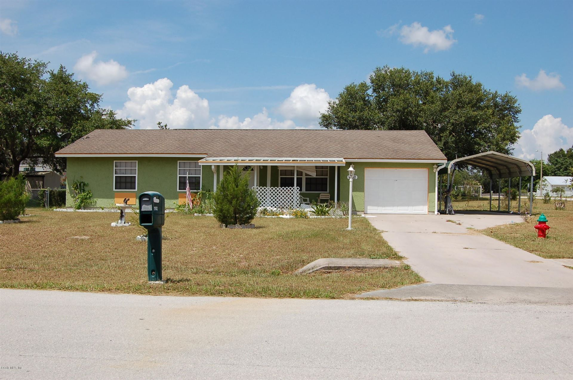 1102 Hickory Road, Ocala, FL 34472 - MLS#: 560782