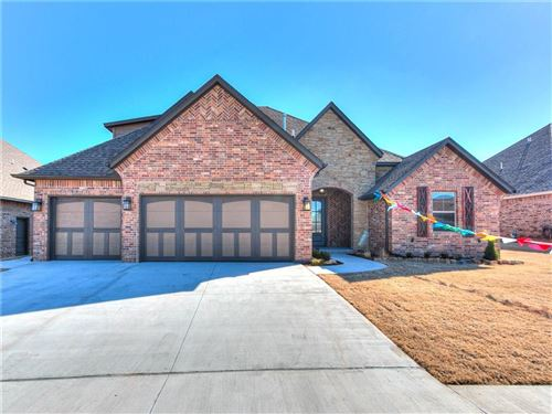 Photo of 5612 S Ledgestone Drive, Mustang, OK 73064 (MLS # 891367)