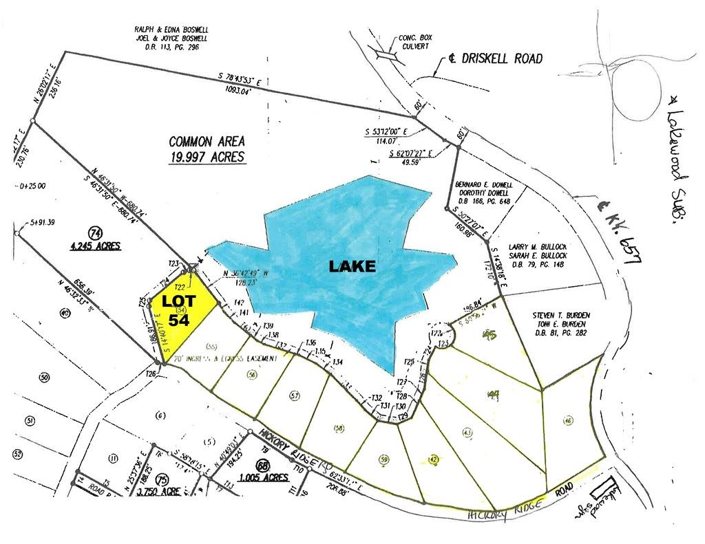 Photo of 0 Hickory Ridge Rd. LOT 54, Lewisport, KY 42351 (MLS # 81258)