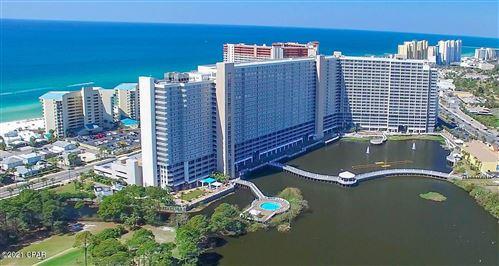Photo of 9860 S Thomas Drive #824, Panama City Beach, FL 32408 (MLS # 717079)