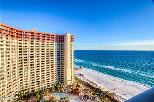 Photo of 9900 S Thomas Drive #1709, Panama City Beach, FL 32408 (MLS # 706803)