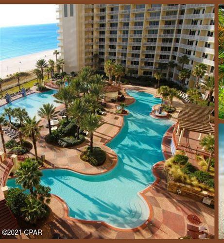 Photo of 9900 S Thomas Drive #909, Panama City Beach, FL 32408 (MLS # 714919)