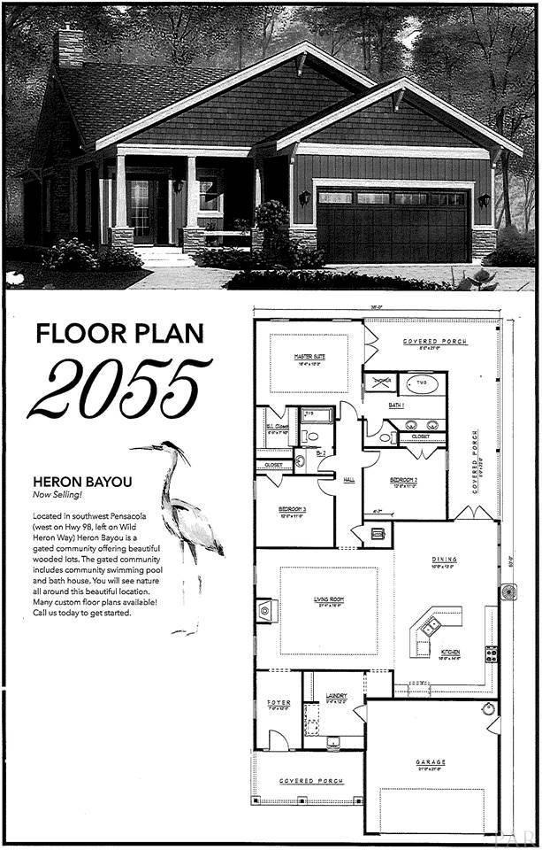 605 WILD HERON WAY, Pensacola, FL 32506 - #: 566065
