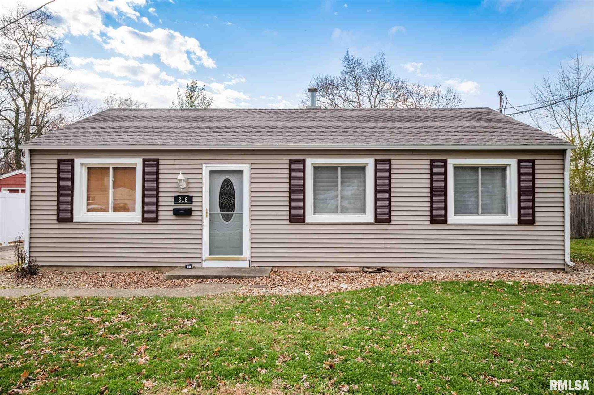 316 ST CLAIR Drive, Marquette Heights, IL 61554 - #: PA1220625