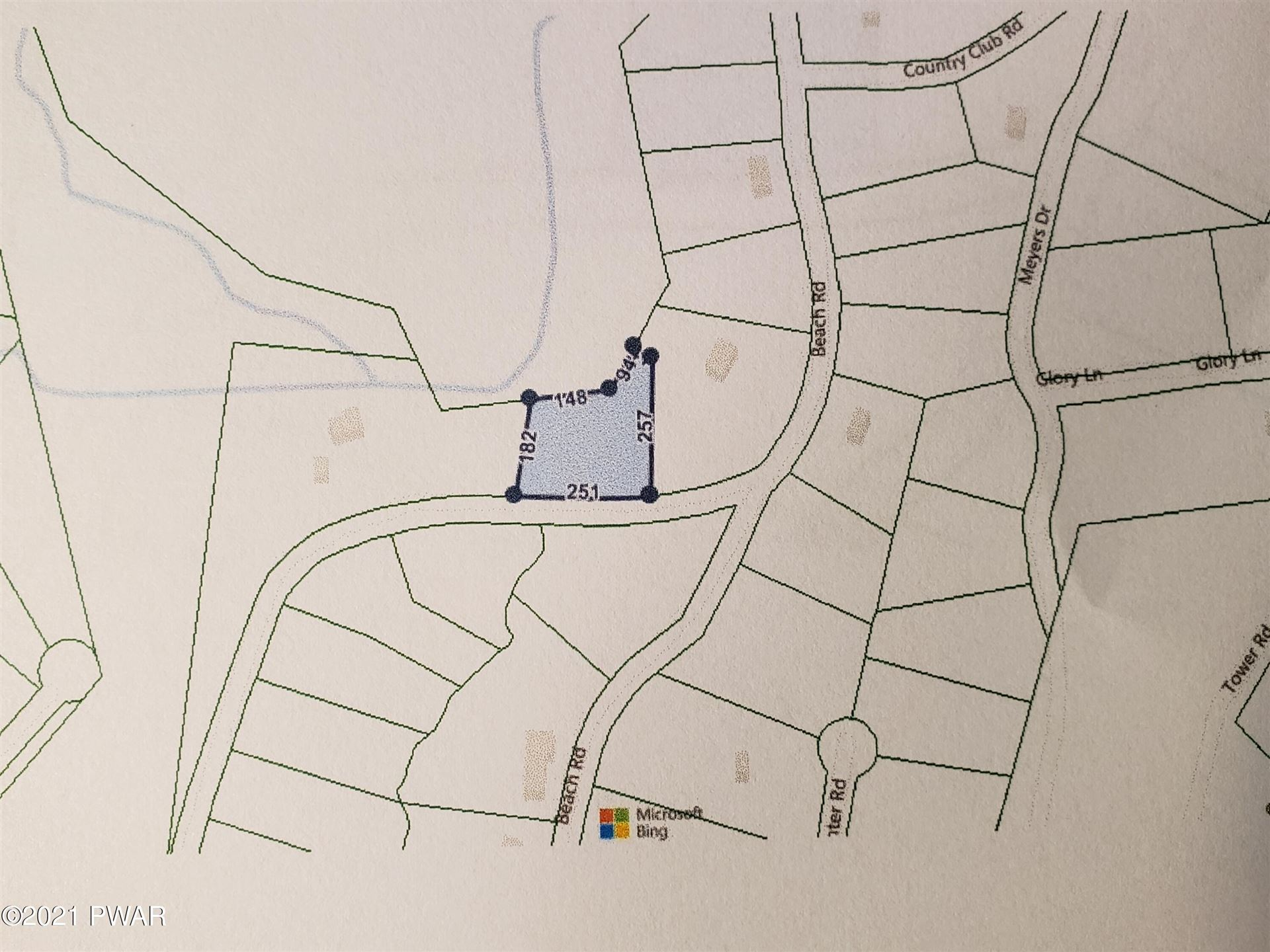 Photo of Lot 630 Center Rd, Dingmans Ferry, PA 18328 (MLS # 21-2177)