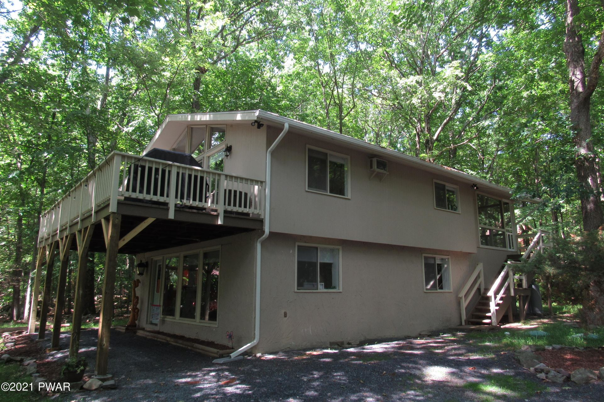 Photo of 107 Village Ln, Lords Valley, PA 18428 (MLS # 21-2182)
