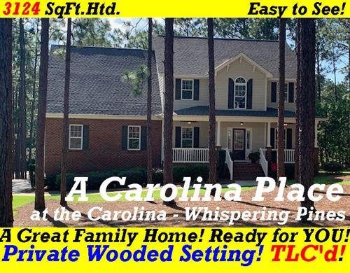 Photo of 214 Woodbine Way, Whispering Pines, NC 28327 (MLS # 201274)