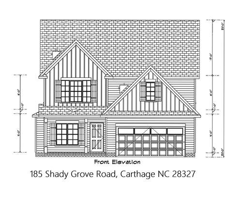 Photo of 185 Shady Grove Road, Carthage, NC 28327 (MLS # 201809)