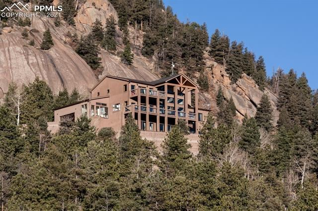 Photo for 1417 Forest Road, Manitou Springs, CO 80829 (MLS # 9673013)