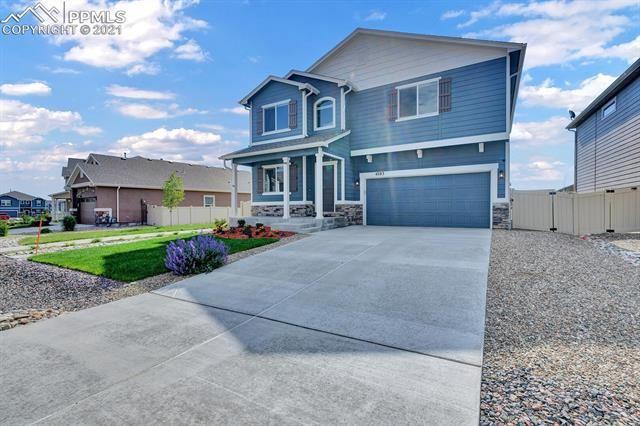 4283 Prairie Agate Drive, Colorado Springs, CO 80938 - #: 2831016