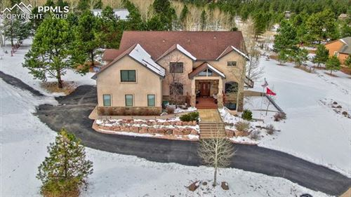 Photo of 1290 Woodland Valley Ranch Road, Woodland Park, CO 80863 (MLS # 1475025)