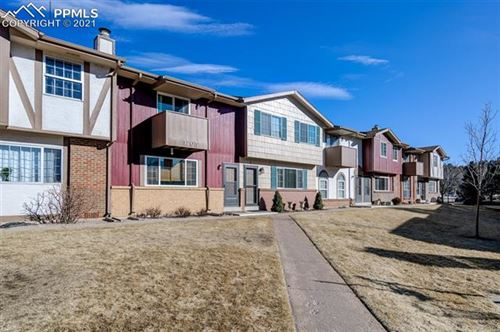Photo of 1205 Willow Bend Circle #F, Colorado Springs, CO 80918 (MLS # 4700032)
