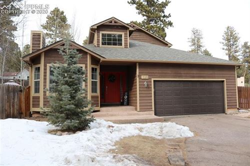 Photo of 320 Evergreen Street, Woodland Park, CO 80863 (MLS # 2355039)