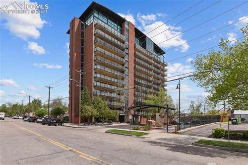 Photo of 417 E Kiowa Street #408, Colorado Springs, CO 80903 (MLS # 5686047)