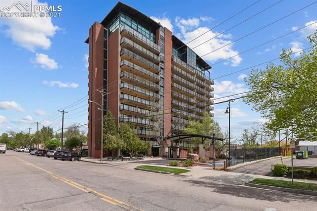 417 E Kiowa Street #408, Colorado Springs, CO 80903 - #: 5686047