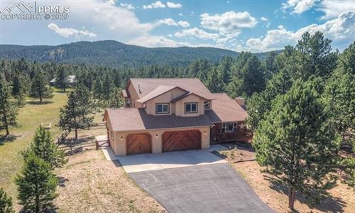 Photo of 1260 Woodland Valley Ranch Drive, Woodland Park, CO 80863 (MLS # 1111048)