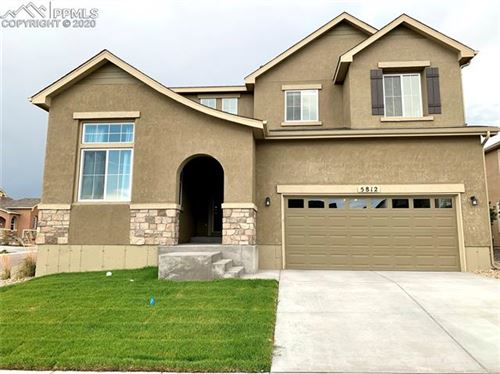 Photo of 5812 Cubbage Drive, Colorado Springs, CO 80924 (MLS # 6960054)