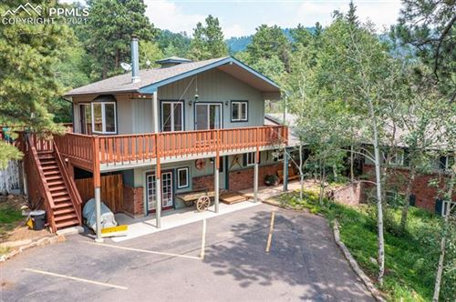 Photo of 159 Trull Road, Woodland Park, CO 80863 (MLS # 6469061)